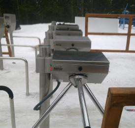 LTT-333 SKI PASS Mounting Images