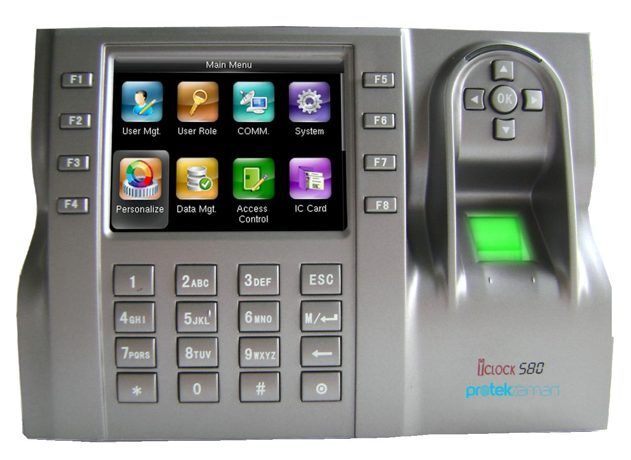 Iclock 580-ID Parmak İzi Sistemleri