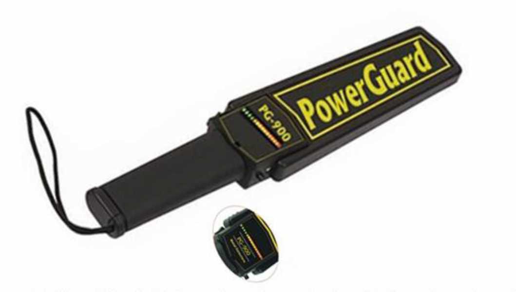 PowerGuard PG 900 Üst Arama El Dedektörü